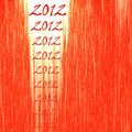 2012 Abstract Red Backgoround Royalty Free Stock Photo - 22243505