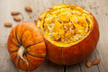 Pumpkin Risotto Royalty Free Stock Photography - 22243887