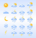 Weather Icons Royalty Free Stock Photography - 22249737