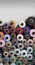 Spools Of Thread Royalty Free Stock Photo - 22250955