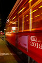 New Orleans Street Car At Night Stock Photos - 22254233