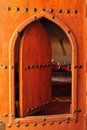 Old Arched Wooden Doorway Stock Photo - 22257390