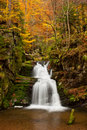 Autumn Waterfall Royalty Free Stock Photography - 22263407