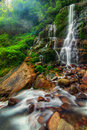 Magnificient Kanchenjunga Falls Stock Photos - 22286633