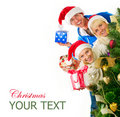 Christmas Family Stock Images - 22292464