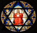 Stained Glass Window Royalty Free Stock Image - 22297566