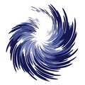 Wispy Feathery Blue Swirl Stock Images - 2232754