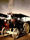 Old Steam Engine Tractor Royalty Free Stock Image - 2234006