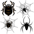 Vector Icons : Spider & Spider Web Stock Images - 22324294