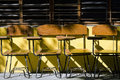 School Chairs Royalty Free Stock Photo - 22325025