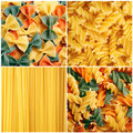 Pasta Collage Stock Images - 22335574