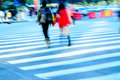 Young Lover On Zebra Crossing Stock Images - 22397164