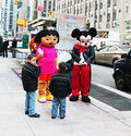 Mickey And Dora Meeting Their Fans Stock Photos - 22399593