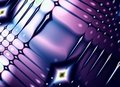 Retro Pattern In Purple Blue Royalty Free Stock Photography - 2246967