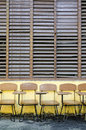 School Chairs Royalty Free Stock Image - 22408386