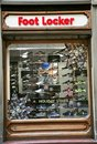 Foot Locker Shoe Store In Italy Royalty Free Stock Image - 22416516