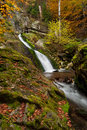 Autumn Waterfall Royalty Free Stock Photography - 22447627