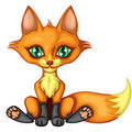 A Cute Little Fox Royalty Free Stock Images - 22458809