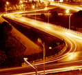 Highway Light Trails Stock Photos - 22461383