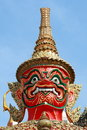 Giant Statue - In Grand Palace Bangkok Thailand Stock Image - 22477681