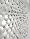 Snow Caught On Wire Fence Royalty Free Stock Image - 2250956