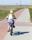 Girl Riding Bike Stock Images - 2253914