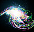 Abstract Dark Shiny Background Stock Images - 22504684