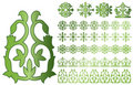 Caucasus Ornaments Royalty Free Stock Photos - 22509358