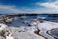 Frozen Dry Falls Royalty Free Stock Images - 22532219
