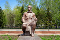 Monument To Yuri Gagarin In Komsomolsk-on-Amur Royalty Free Stock Images - 22534429