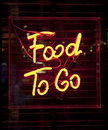 Food To Go Sign Stock Photography - 22588782