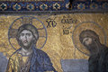 Jesus And John The Baptist, Hagia Sophia, Istanbul Stock Image - 22595211
