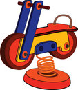 Toy Motorcycle.  Cartoon Stock Images - 22610604