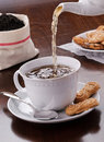 Tea With Biscuits Royalty Free Stock Image - 22624336