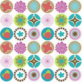 Seamless Circle Background Stock Images - 22627904