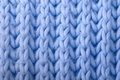 Blue Wool Knitted Background Stock Photography - 22637582