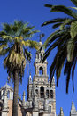 La Giralda Cathedral Belltower In Seville Royalty Free Stock Photo - 22647145