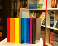 Row Of Colorful Books And Tablet PC Stock Images - 22650284