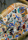 Park Bench, Parc Guell, Barcelona Stock Photography - 22650862