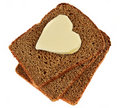 Heart Of The Butter Royalty Free Stock Image - 22683546