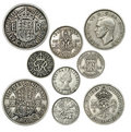 Old British Coins Stock Photo - 22683830