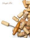 Corkscrews And Corks. Stock Images - 22686374