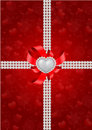 Saint Valentine S Day Greeting Card Royalty Free Stock Photography - 22692357