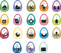 Egg Icons Stock Images - 2274694