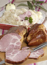 Ham And Choucroute Stock Photo - 2279790