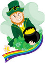 Irish Leprechaun Royalty Free Stock Images - 22705279