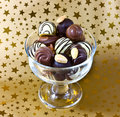 Chocolates In Bowl Stock Image - 22711341
