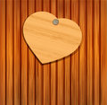 Wooden Heart For Valentine S Day Stock Photography - 22781792