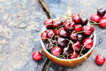 Bowl Of Cherries Royalty Free Stock Images - 22787409