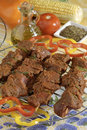 Spicy Meat Kabobs Stock Images - 2280104